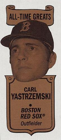 2018 Topps Heritage High Number Baseball 1969 Bazooka All-Time Greats Carl Yastrzemski