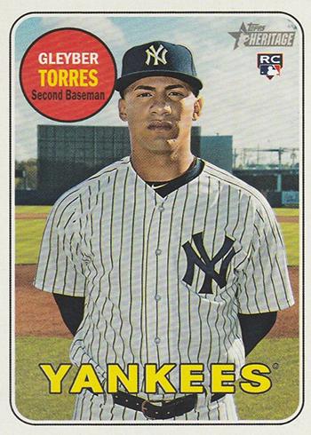 2018 Topps Heritage High Number Baseball Gleyber Torres