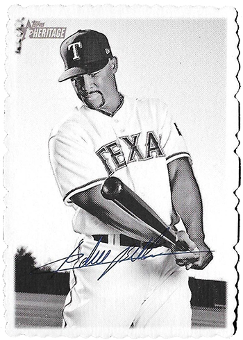 2018 Topps Heritage High Number Baseball Deckle Edge Adrian Beltre