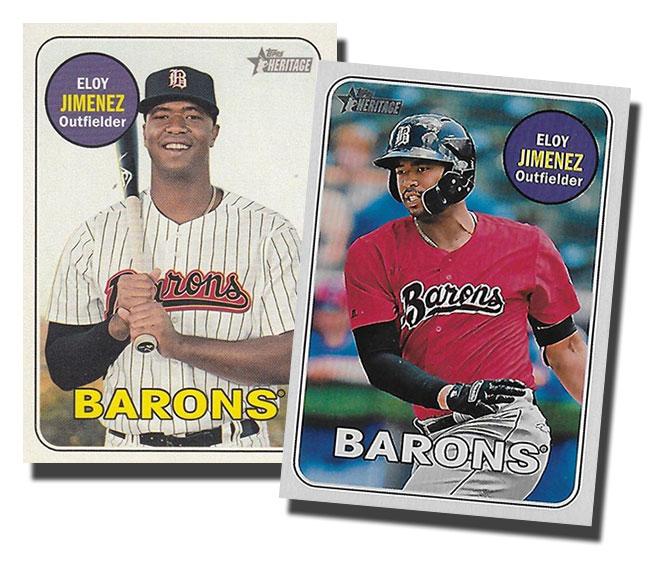 2018 Topps Heritage Minors Baseball Variations