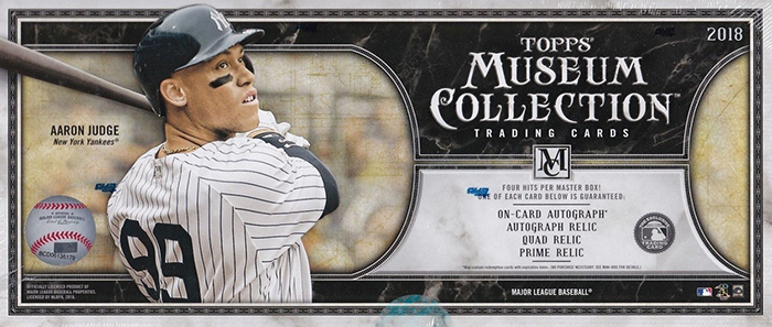 2018 Topps Museum Collection Baseball Video Box Break And Breakdown