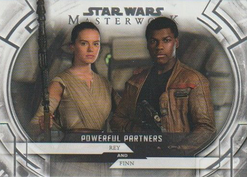 2018 Topps Star Wars Masterwork Powerful Partners