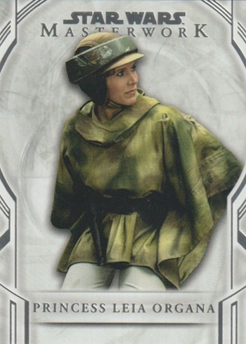 2018 Topps Star Wars Masterwork Princess Leia Organa SP