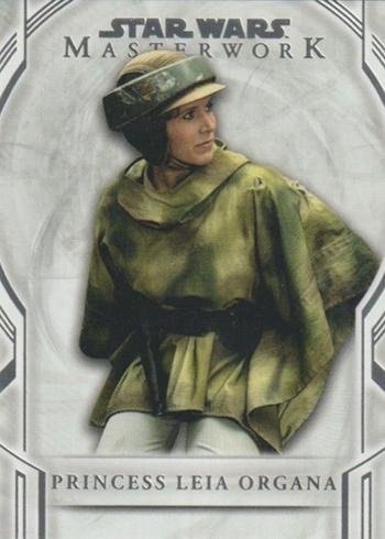2018 Topps Star Wars Masterwork Princess Leia Organa SP