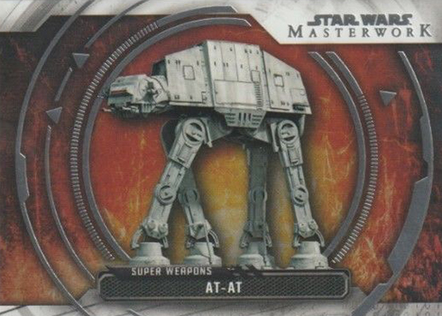 2018 Topps Star Wars Masterwork Super Weapons