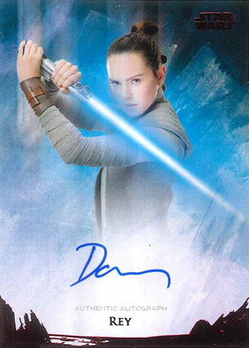 2018 Topps Star Wars Stellar Signatures Daisy Ridley