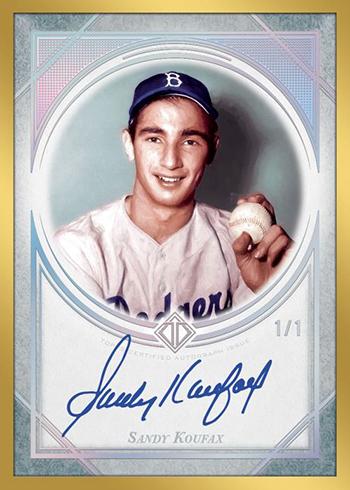 2018 Topps Transcendent Baseball Transcendent Collection Autograph Platinum