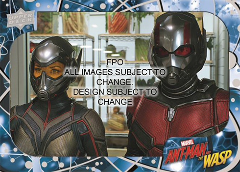2018 Upper Deck Ant-Man and the Wasp Base