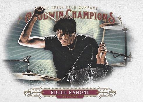 2018 Upper Deck Goodwin Champions 55 Richie Ramone