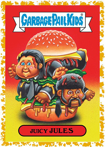 Garbage Pail Kids 2019 Topps Sticker We Hate The '90s Cartoons Tied Up Todd 9b