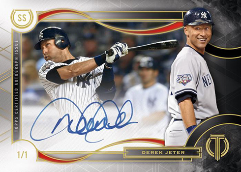 2019 Topps Tribute Baseball Tribute to the Postseason Autograph