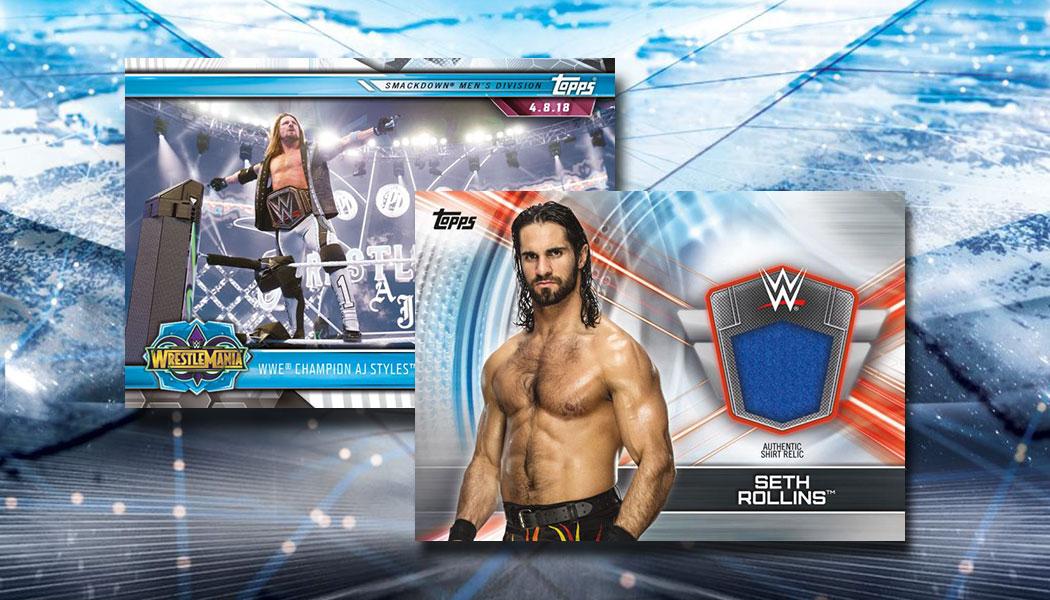 2019 Topps Road to WrestleMania Wrestlemania 35 Roster #WM-25 Rusev WWE Wrestling Trading Card