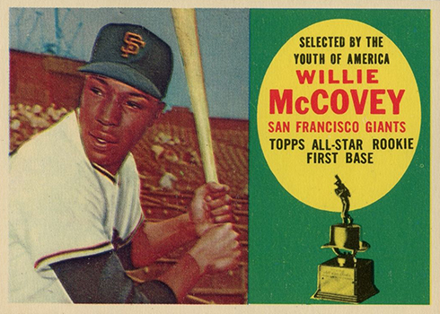1960 Topps Willie McCovey