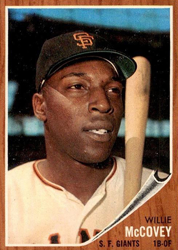 1962 Topps Willie McCovey