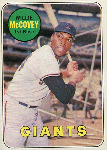 1969 Topps Willie McCovey