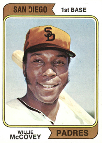 1974 Topps Willie McCovey