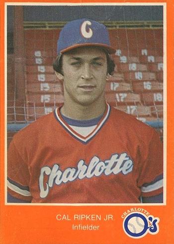 1980 Charlotte O's Police Cal Ripken Jr.