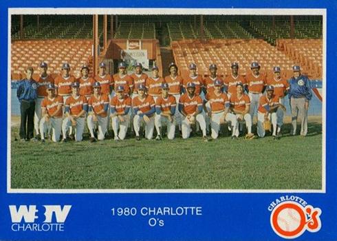 1980 Charlotte O's WBTV Checklist and Baseball Card Details