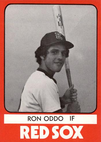 1980 Elmira Pioneer Red Sox TCMA Ron Oddo