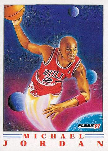1991-92 Fleer Pro-Vision Michael Jordan