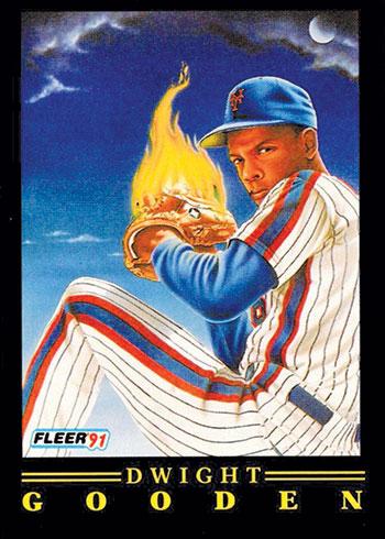 1991-Fleer-Pro-Vision-Dwight-Gooden