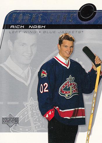 2002-03 Upper Deck Rick Nash RC Young Guns