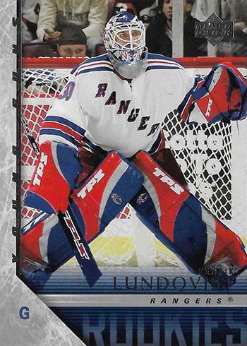 2005-06 Upper Deck Henrik Lundqvist RC