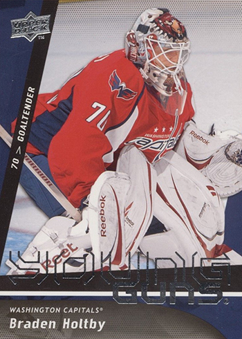 2009-10 Upper Deck Braden Holtby RC