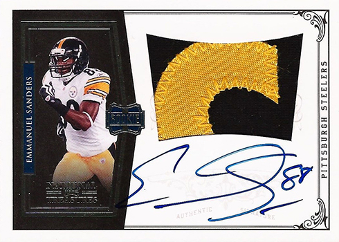 2010 National Treasures Emmanuel Sanders