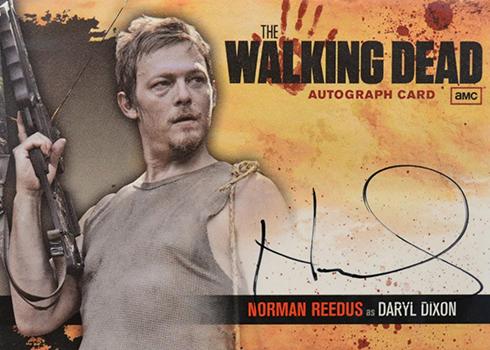 2011 Cryptozoic Walking Dead Norman Reedus Autograph A18