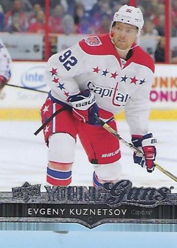 2014-15 Upper Deck Evgeny Kuznetsov RC