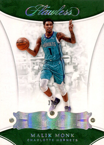 2017-18 Panini Flawless Basketball Base Triple Double Malik Monk