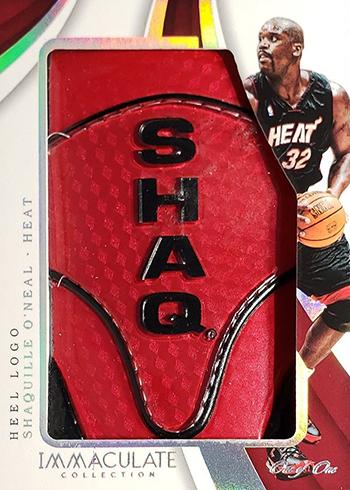 2017-18 Panini Immaculate Basketball Sneak Peek Heal Logo Shaquille ONeal