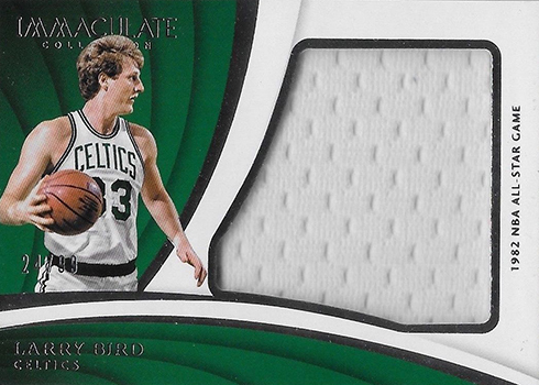 2017-18 Panini Immaculate Basketball Special Event Materials Larry Bird