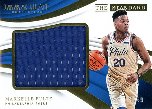 2017-18 Panini Immaculate Basketball The Standard Markelle Fultz