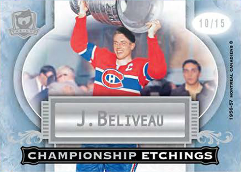 2017-18 Upper Deck The Cup Hockey Championship Etchings
