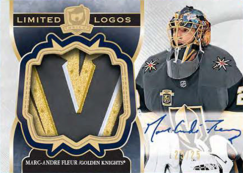 2017-18 Upper Deck The Cup Hockey Limited Logos