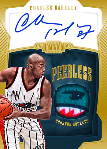 2018-19 Panini Dominion Basketball Peerless Jersey Autographs Gold
