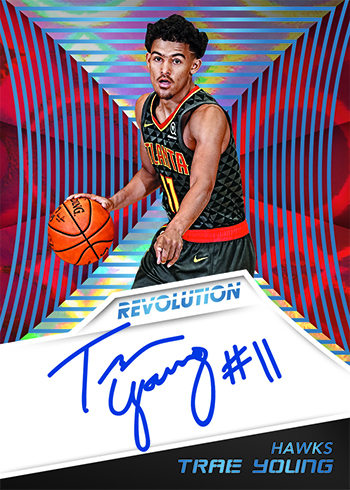 2018-19 Panini Revolution Basketball Rookie Autographs Infinite