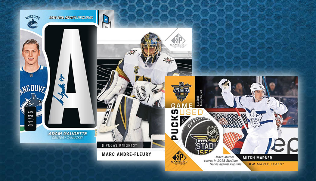 2018-19 SP Game Used Hockey Checklist, Team Set Lists, Release