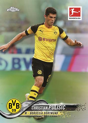 2018-19 Topps Chrome Bundesliga Soccer Base
