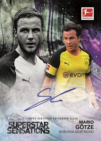 2018-19 Topps Chrome Bundesliga Soccer Superstar Sensations Autograph