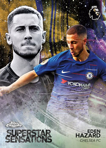2018-19 Topps Chrome Premier League Soccer Superstar Sensations