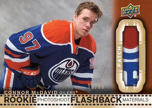 2018-19 Upper Deck Series 2 Hockey Photoshoot Flashbacks