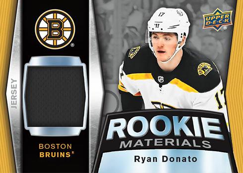 2018-19 Upper Deck Series 2 Hockey Rookie Materials