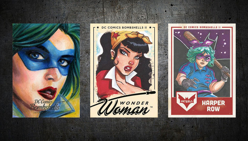 DC COMICS BOMBSHELLS SERIES 2 PROMO CARD P3 CRYPTOZOIC 2018