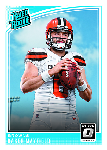 2018 Donruss Optic Football Base Rated Rookie