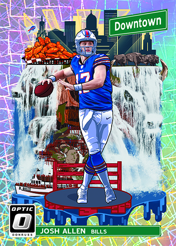 2018 Donruss Optic Football Downtown