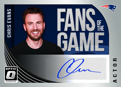 2018 Donruss Optic Football Fans of the Game Autographs