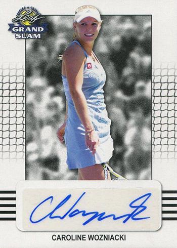 2018 Leaf Grand Slam Tennis Caroline Wozniacki Autograph